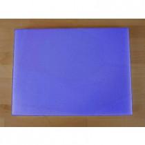 Tabla de cortar de polietileno rectangular 30X40 cm azul - espesor 25 mm