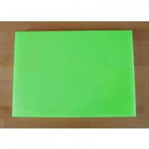 Tabla de cortar de polietileno rectangular 50X70 cm verde - espesor 10 mm