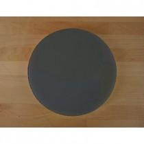 Tabla de cortar de polietileno redonda diámetro 30 cm black efecto pizarra - espesor 10 mm