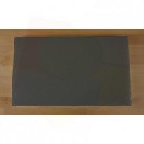 Tabla de cortar de polietileno rectangular 30X50 cm black efecto pizarra - espesor 10 mm