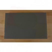 Tabla de cortar de polietileno rectangular 50X80 cm black efecto pizarra - espesor 10 mm
