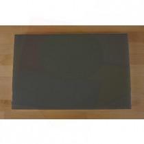 Tabla de cortar de polietileno rectangular 40X60 cm black efecto pizarra - espesor 10 mm
