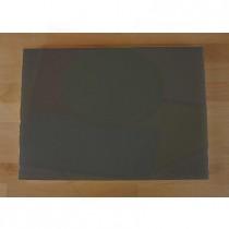 Tabla de cortar de polietileno rectangular 50X70 cm black efecto pizarra - espesor 10 mm