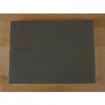 Tabla de cortar de polietileno rectangular 30X40 cm black efecto pizarra - espesor 10 mm