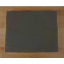 Tabla de cortar de polietileno rectangular 40X50 cm black efecto pizarra - espesor 10 mm