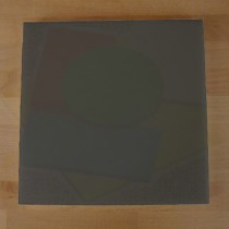 Tabla de cortar de polietileno quadrada 40X40 cm black efecto pizarra - espesor 10 mm
