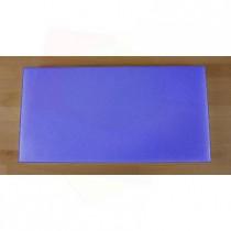 Tabla de cortar de polietileno rectangular 40X80 cm azul - espesor 10 mm