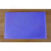 Tabla de cortar de polietileno rectangular 40X60 cm azul - espesor 10 mm