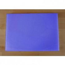 Tabla de cortar de polietileno rectangular 50X70 cm azul - espesor 10 mm