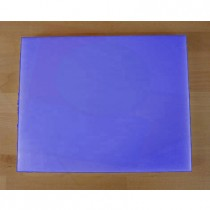 Tabla de cortar de polietileno rectangular 40X50 cm azul - espesor 10 mm