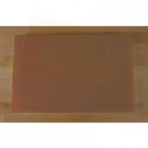 Tabla de cortar de polietileno rectangular 40X60 cm marrón - espesor 10 mm